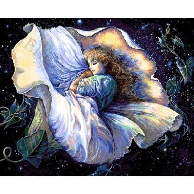 Авторский набор для вышивки бисером - Токарева А. - Волшебный сон 42-4118-НВ