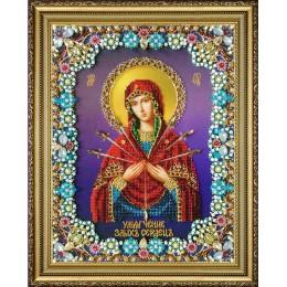 """Икона Божией Матери """"Умягчение злых сердец"""" - Картины бисером - вышивка бисером икон"""