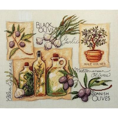 Пряности и травы - Classic Design - набор вышивки крестом