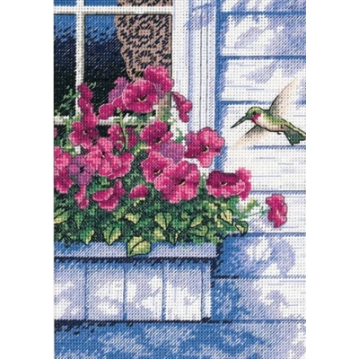 Набор для вышивки крестом - Classic Design - 4504 Колибри у окна