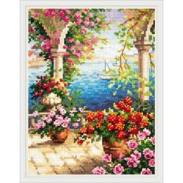 Цветочный бриз - Чудесная игла - набор вышивки крестом