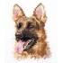 Наборы для вышивки крестом - Собаки