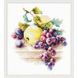 Виноград и яблоки - Чудесная игла - набор для вышивки крестом