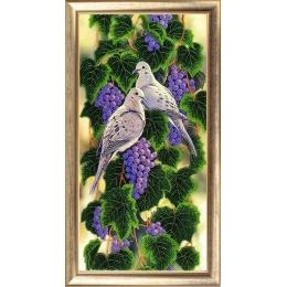 Виноградная лоза - Butterfly - набор вышивки бисером