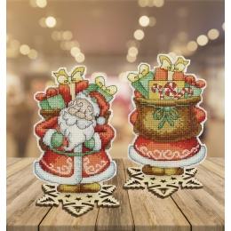 """Набор для вышивания крестом Crystal Art Т-56 Серия """"Сказка. Дед Мороз"""""""