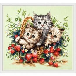 Милые создания - Чудесная игла - набор для вышивки крестом
