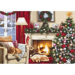 Рождественский интерьер - Luca-S - набор для вышивки крестом