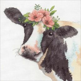 Sweet Cow / Милая корова - Dimensions - набор для вышивки крестом