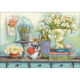 Garden collectibles / Садовые предметы - Dimensions - набор для вышивки крестом