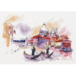 Путешествие по Венеции - PANNA - набор для вышивки крестом