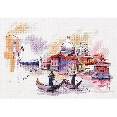 Путешествие по Венеции - PANNA - набор вышивки крестом