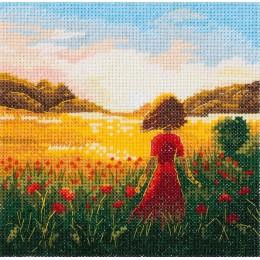 Набор для вышивки крестом - PANNA - ПС-7211 Последний день лета