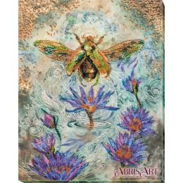 Золотой жук - Абрис Арт - набор для вышивки бисером