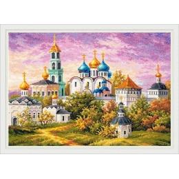Набор для вышивки крестом - Чудесная игла - 75-06 Сергиев Посад. Троице-Сергиева Лавра