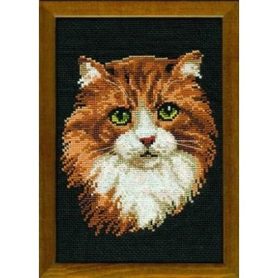 Рыжий кот - РИОЛИС - набор вышивки крестом
