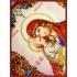 Вышивка бисером икон - Образа в каменьях - 7762 Образ пресвятой Богородицы Почаевской