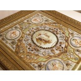 Вышивка бисером икон - Образа в каменьях - 77-е-02 Вознесение Господне