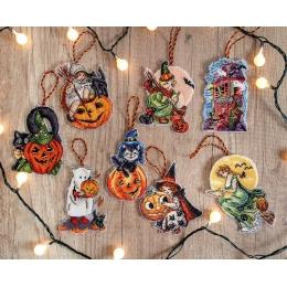 Набор для вышивания крестом LETISTITCH L 8008 Набор игрушек для Хэллоуина
