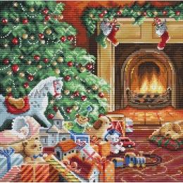 Набор для вышивания крестом - LETISTITCH - L8009 Уютное Рождество