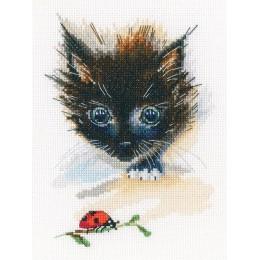 Набор для вышивки крестом RTO M826 Божья коровка и супер-кот