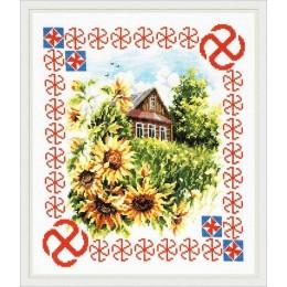 Защита дома - Чудесная игла - набор для вышивки крестом