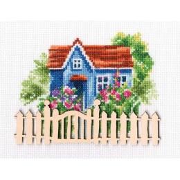 Набор для вышивки крестом RTO MBE9006 Мой милый дом