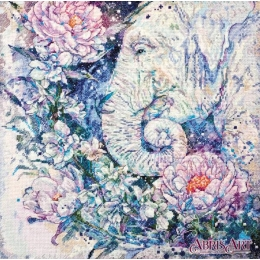 Набор для вышивки крестом - Абрис Арт - АН-096 Белые легенды