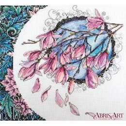 Набор для вышивки крестом - Абрис Арт - Кружева весны