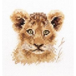 Набор для вышивки крестом - Алиса - Животные в портретах. Львенок