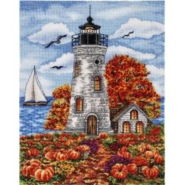 Набор вышивки крестом - Алисена - Маяк. Осень