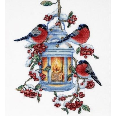 Снегири - Алисена - набор вышивки крестом