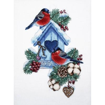 Снегири 2 - Алисена - набор вышивки крестом