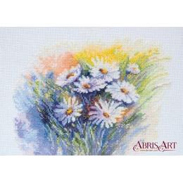 Акварельные ромашки - Абрис Арт - набор вышивки крестом