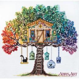 Кошкин дом - Абрис Арт - набор вышивки крестом