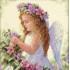 Вышивка бисером ангел