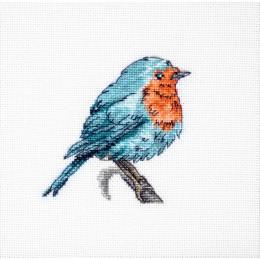 Синяя птица - Luca-S - набор вышивки крестом