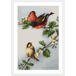 Птички - Luca-S - набор вышивки крестом