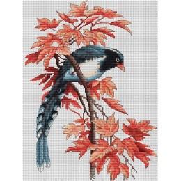 Птичка В293 - Luca-S - набор вышивки крестом