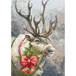 Рождественский олень - Luca-S - набор вышивки крестом