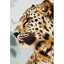 Леопард - Luca-S - набор вышивки крестом