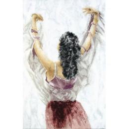 Набор для вышивания крестом - Чарівна Мить - М-429 Фламенко. Стук каблучков