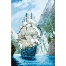 Набор для вышивки крестом - Чарівна Мить - М-441 В родную гавань