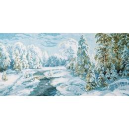 Набор для вышивки крестом - Чарівна Мить - М-366 Зимний иней
