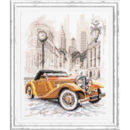 Набор для вышивки крестом Чудесная игла 110-026 Ретро-стиль. Нью-Йорк