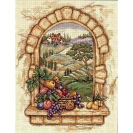 Набор для вышивки крестом - Classic Design - 4497 Вид Тосканы