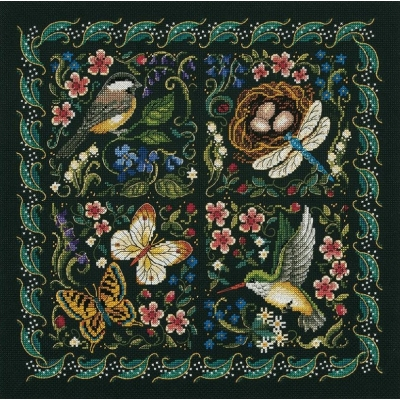 Набор для вышивания крестом - Dimensions - 03824 The Finery Of Nature