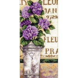 Набор для вышивания крестом - Dimensions - 65092 Hydrangea Floral / Цветы Гортензии