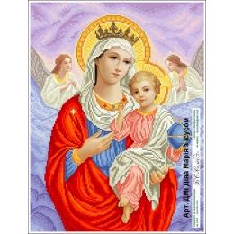 Набор для вышивка бисером икон - БС Солес - Дева Мария с Иисусом