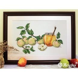 Набор для вышивки крестом - ТМ Мережка - К-02 Медовые яблоки