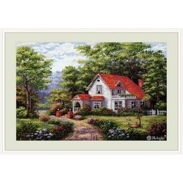 Уютный дом - ТМ Мережка - набор вышивки крестом